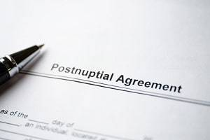 Hoffman Estates family law attorney postnuptial agreement