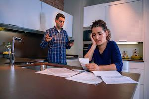 Palatine family law attorney, debt division, Illinois divorces